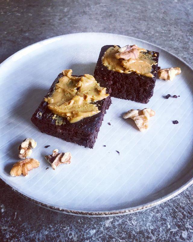 Dattel-Bohnen-Brownies Hier noch